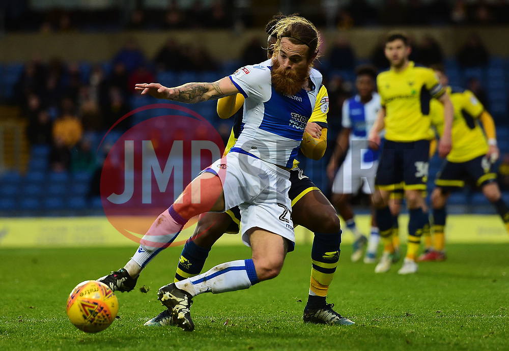 Stuart Sinclair of Bristol Rovers - Mandatory by-line: Alex James/JMP - 10/02/2018 - FOOTBALL - Kassam Stadium - Oxford, England - Oxford United v Bristol Rovers - Sky Bet League One