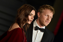 2018 Vanity Fair Oscar Party. Wallis Annenberg Center for the Performing Arts, Beverly Hills, CA. Pictured: Eve Hewson. EVENT March 4, 2018. 04 Mar 2018 Pictured: Emily Ratajkowski,Sebastian Bear-McClard. Photo credit: AXELLE/BAUER-GRIFFIN/MEGA TheMegaAgency.com +1 888 505 6342