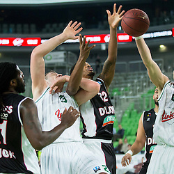 20150211: SLO, Basketball - EuroCup 2014/15, KK Union Olimpija Ljubljana vs JDA Dijon