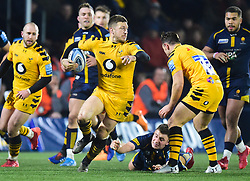 Jimmy Gopperth of Wasps - Mandatory by-line: Alex James/JMP - 25/01/2020 - RUGBY - Sixways Stadium - Worcester, England - Worcester Warriors v Wasps - Gallagher Premiership Rugby
