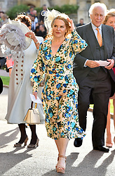 Guests arrive for the wedding of Princess Eugenie to Jack Brooksbank at St George's Chapel in Windsor Castle