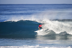 December 18, 2017 - Oahu, Hawaii, U.S. - Jeremy Flores of France advances to the Quarterfinals of the 2017 Billabong Pipe Masters after winning Heat 3 of Round Four at Pipe, Hawaii, USA...Billabong Pipe Masters 2017, Hawaii, USA - 18 Dec 2017 (Credit Image: © WSL via ZUMA Wire/ZUMAPRESS.com)