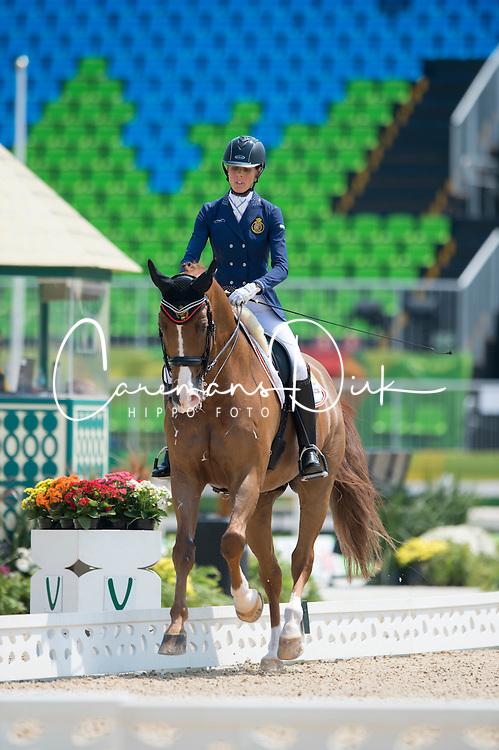 Geroge Michele (BEL) - Rainman<br /> Team Test - Grade IV - Dressage <br /> Paralympic Games - Rio 2016<br /> &copy; Hippo Foto - Jon Stroud