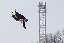 21.02.2018, Phoenix Snow Park, Bokwang, KOR, PyeongChang 2018, Freestyle Ski, Herren, Halfpipe, Training, im Bild Andreas Gohl (AUT) // Andreas Gohl of Austria during a Freestyle Skiing training session for the Men's Halfpipe competition of Pyeongchang 2018 Winter Olympic Games at the Phoenix Snow Park in Bokwang, South Korea on 2018/02/21. EXPA Pictures © 2018, PhotoCredit: EXPA/ Johann Groder