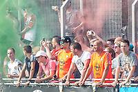 ROTTERDAM - Eerste training met Dirk Kuyt , voetbal , seizoen 2015/2016 , Sportcomplex Varkenoord , 02-07-2015 , Het sportcomplex staat vol me supporters