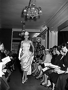 10/10/1955<br /> 10/10/1955<br /> Christian Dior fashions at Brown Thomas and Co., Grafton Street, Dublin.
