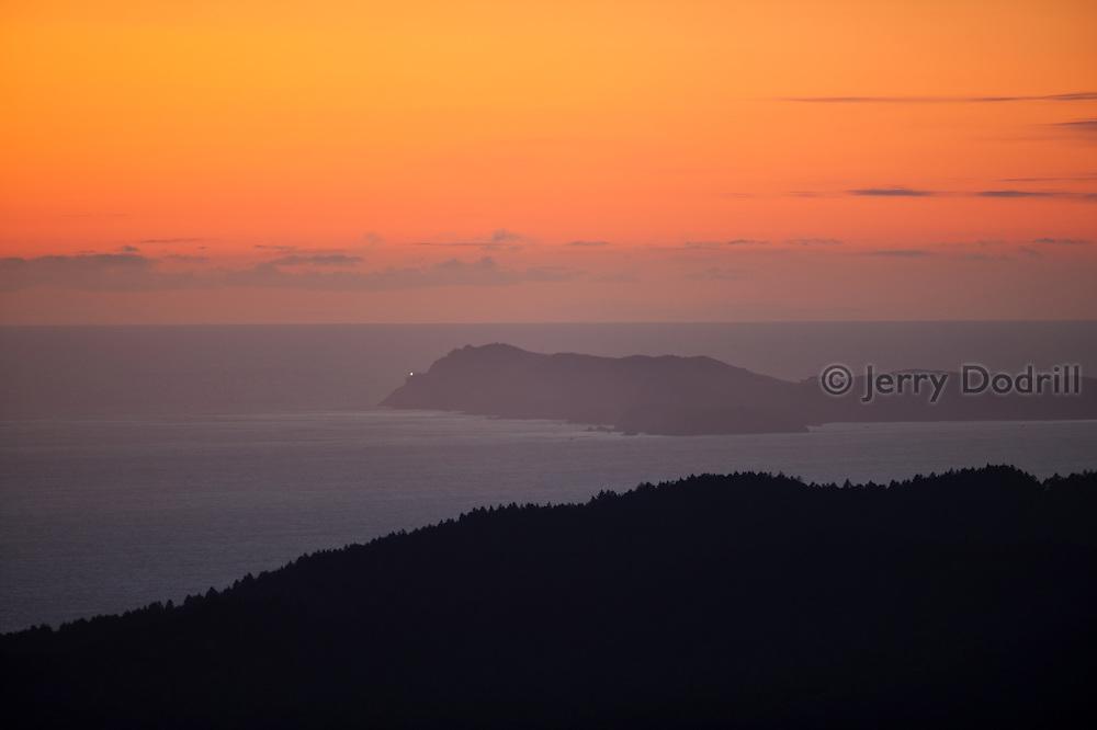 Point Reyes from Bolinas Ridge, Marin County, CA