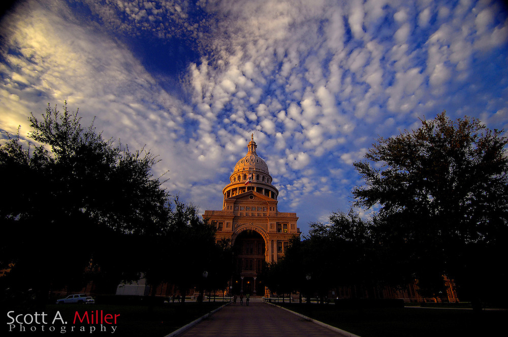 September 5, 2007, Austin; The Texas State Capital in Austin, Texas.....©2007 Scott A. Miller