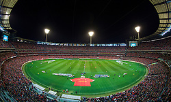 MELBOURNE, AUSTRALIA - Wednesday, July 24, 2013: A general view of the Melbourne Cricket Ground as Liverpool take on Melbourne Victory during preseason friendly match. (Pic by David Rawcliffe/Propaganda)