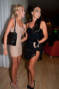 PETRA ECCLESTONE; TAMARA ECCLESTONE, An evening at Sanderson to celebrate 10 years of Sanderson, in aid of Clic Sargent. Sanderson Hotel. 50 Berners St. London. W1. 27 April 2010 *** Local Caption *** -DO NOT ARCHIVE-© Copyright Photograph by Dafydd Jones. 248 Clapham Rd. London SW9 0PZ. Tel 0207 820 0771. www.dafjones.com.<br /> PETRA ECCLESTONE; TAMARA ECCLESTONE, An evening at Sanderson to celebrate 10 years of Sanderson, in aid of Clic Sargent. Sanderson Hotel. 50 Berners St. London. W1. 27 April 2010