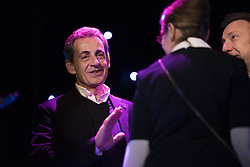 Former French President Nicolas Sarkozy before the inauguration of Bruni's wax sculpture on December 17, 2018 at the Musee Grevin wax museum in Paris. Photo by Eliot Blondet/ABACAPRESS.COM