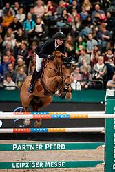 Staut Kevin, FRA, Ayade de Septon et HDC<br /> Leipzig - Partner Pferd 2019<br /> © Hippo Foto - Stefan Lafrentz
