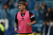 MK Dons defender Kyle McFadzean (5)  during the Sky Bet Championship match between Sheffield Wednesday and Milton Keynes Dons at Hillsborough, Sheffield, England on 19 April 2016. Photo by Simon Davies.