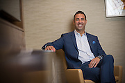Chris Finelli, Regional Vice President Sales - Americas for Hyatt Hotels photographed in the Hyatt Regency Chicago on Friday, Aug. 26, 2016, in Chicago. (Photo by Rob Hart)