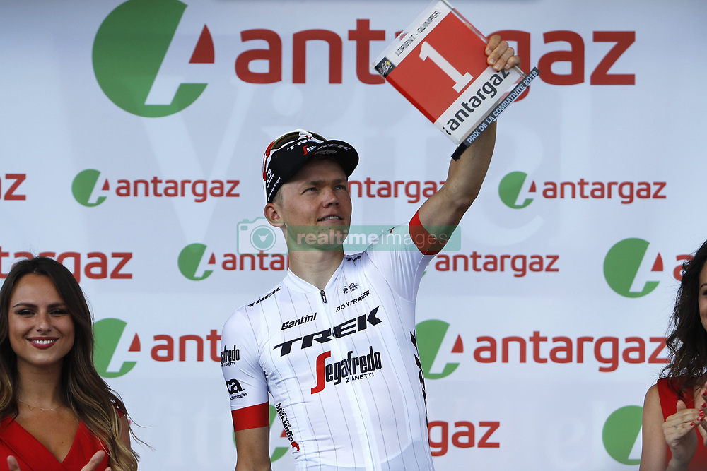 July 11, 2018 - Quimper, France - QUIMPER, FRANCE - JULY 11 :  SKUJINS Toms (LAT) of Trek - Segafredo  during stage 5 of the 105th edition of the 2018 Tour de France cycling race, a stage of 204.5 kms between Lorient and Quimper on July 11, 2018 in Quimper, France, 11/07/18 (Credit Image: © Panoramic via ZUMA Press)