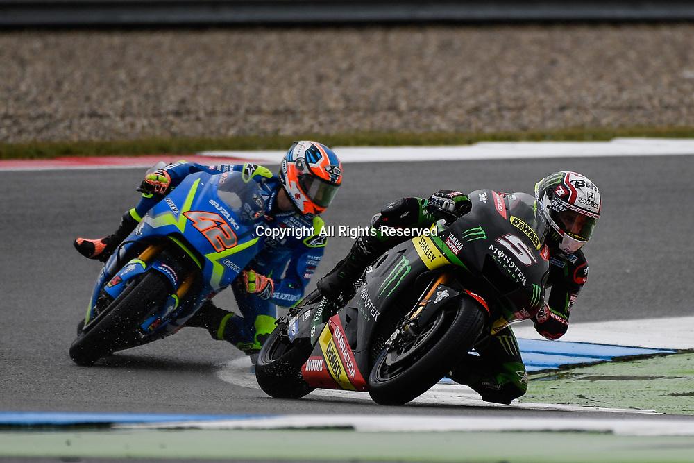 June 24th 2017, TT Circuit, Assen, Netherlands; MotoGP Grand Prix TT Assen, Qualifying Day; Johann Zarco (Monster Yamaha Tech 39) during the qualifying sessions on his way to pole
