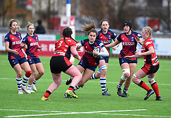 Lucy Attwood of Bristol Bears Women - Mandatory by-line: Paul Knight 12/2019 - RUGBY - Shaftesbury Park - Bristol, England - Bristol Bears Women v Gloucester-Hartpury Women - Tyrrells Premier 15s