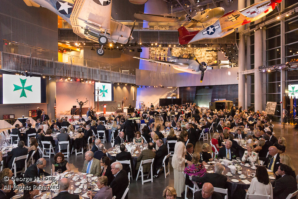 International Order of St. Hubertus dinner at the National World War II Museum in New Orleans