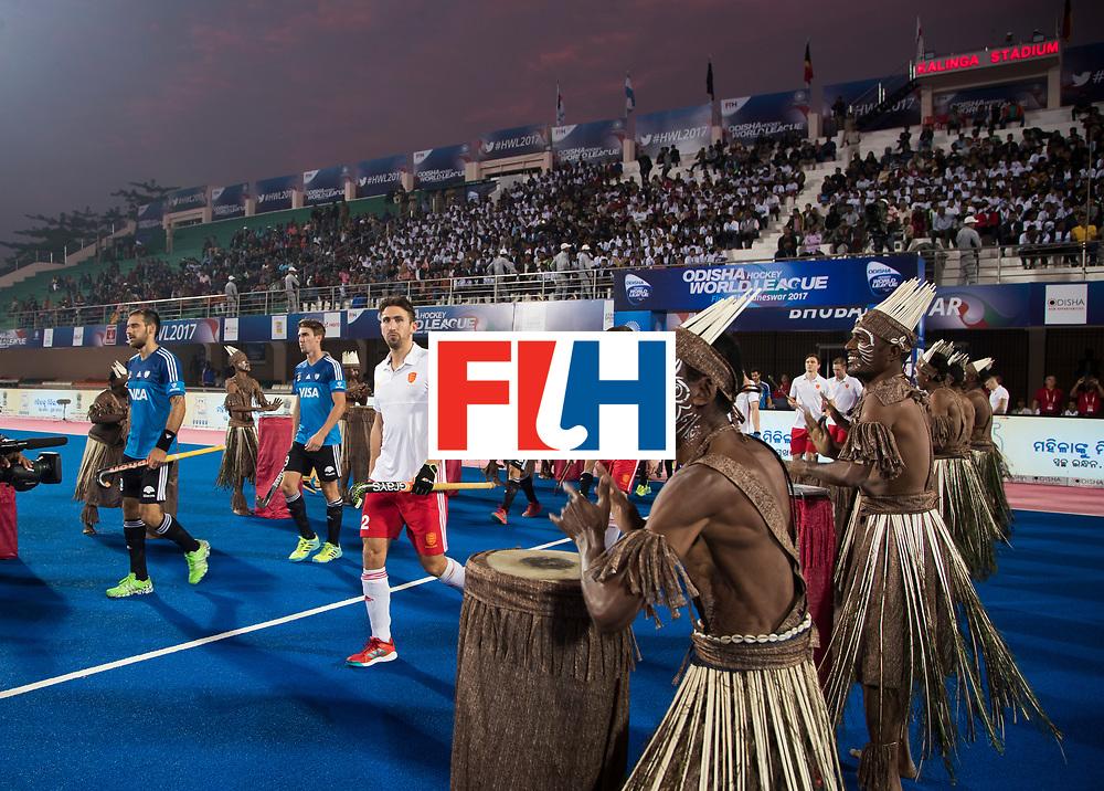 Odisha Men's Hockey World League Final Bhubaneswar 2017<br /> Match id:14<br /> England v Argentina , Quater Final<br /> Foto: David Condon (Eng) <br /> WSP COPYRIGHT KOEN SUYK