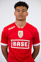 Standard's Sammy Mmaee pictured during the 2015-2016 season photo shoot of Belgian first league soccer team Standard de Liege, Monday 13 July 2015 in Liege.