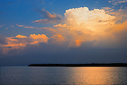 STorm clouds on Lake Winnipeg<br /> Pine Dock<br /> Manitoba<br /> Canada