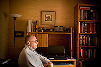 Jay Chapman, a retired medical pathologist, sits in his office of his Santa Rosa home, in California., on Friday, Oct. 29, 2010. Mr. Chapman, who supported the death penalty and was then the chief medical examiner in Oklahoma,  recalls when the lethal injection was signed into law in the state of Oklahoma in 1977. The cocktail basically involves uses an overdose of an anesthetic..