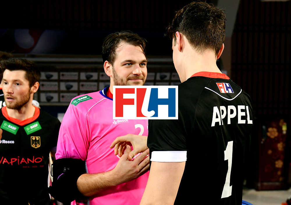 Odisha Men's Hockey World League Final Bhubaneswar 2017<br /> Match id:21<br /> India v Germany<br /> Foto: keeper Tobias Walter (Ger) and keeper Mark Appel (Ger) <br /> COPYRIGHT WORLDSPORTPICS FRANK UIJLENBROEK