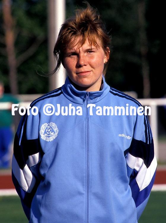 06.06.1991.Sari Holmstr?m - Finland.©JUHA TAMMINEN