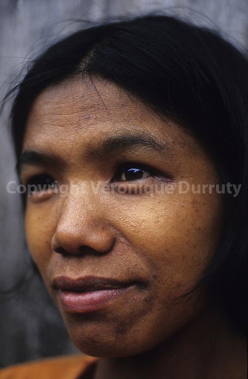KALINGA - HEAD HUNTERS TRIBE - WOMAN ,  NORTH LUZON,THE PHILIPPINES