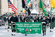 St. Patrick's Day parade in New York City