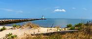 Fenwick Lighthouse and Beach