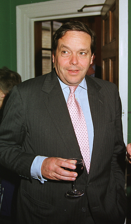 VISCOUNT CRANBORNE at a party in London on 12th May 1999.MRY 12