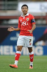 Bristol City's Korey Smith - Photo mandatory by-line: Dougie Allward/JMP - Mobile: 07966 386802 - 25/01/2015 - SPORT - Football - Bristol - Ashton Gate - Bristol City v West Ham United - FA Cup Fourth Round