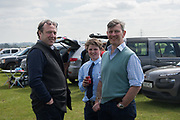 GILES LAWTON; ARCHIE BRAMWELL; JONATHAN BRAMWELL,  Heythrop Point to Point, Cocklebarrow, 2 April 2017.