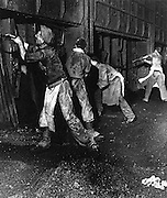 Middlesborough steel workers 1940s