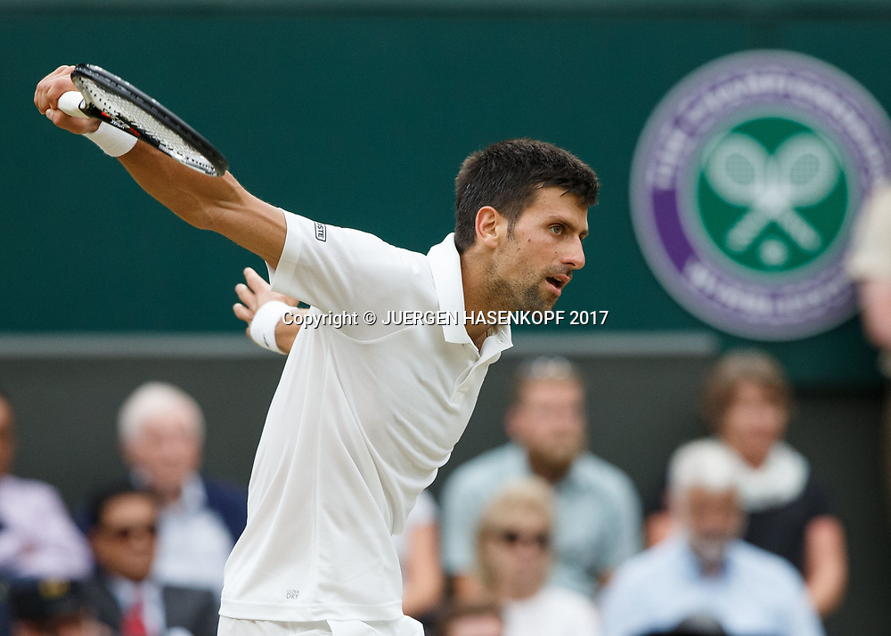 NOVAK DJOKOVIC (SRB)<br /> <br /> Tennis - Wimbledon 2017 - Grand Slam ITF / ATP / WTA -  AELTC - London -  - Great Britain  - 11 July 2017.
