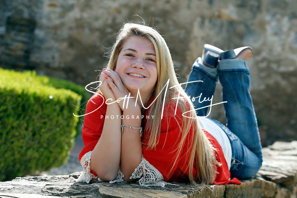 1 September 2014, Kaylee Soluri's High School Portraits, Mission San Jose, San Antonio, TX