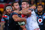 Blake Green. Auckland Warriors v St George Dragons. NRL Rugby League.Magic Round 2019 Suncorp Stadium, Brisbane, New Zealand. May 11, 2019. © Copyright photo: Patrick Hamilton / www.photosport.nz