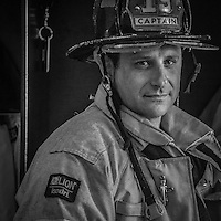 The Calistoga Fire Department's has an open house and rescue demonstration featuring Captain Joe Russo with firefighters Rob Ebling and Blake McCormick