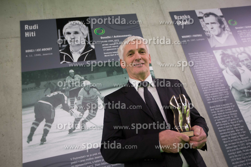 Rudi Hiti during the 2012 Slovenia Hall of Fame induction ceremony, on December 19, 2012 in Arena Stozice, Ljubljana, Slovenia. (Photo By Vid Ponikvar / Sportida.com)