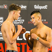 NLD/Amsterdam20160624 - Glory 31 / Weigh in, Paul Jansen vs Hamza Essalih