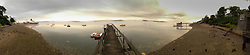 Chateau Bateau Panoramic, Castine, Maine, US