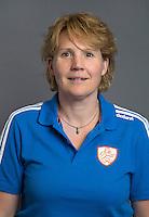 ARNHEM - Manager Clarinda Sinnige. Nederlands Hockeyteam dames voor Wereldkamioenschappen hockey 2014. FOTO KOEN SUYK