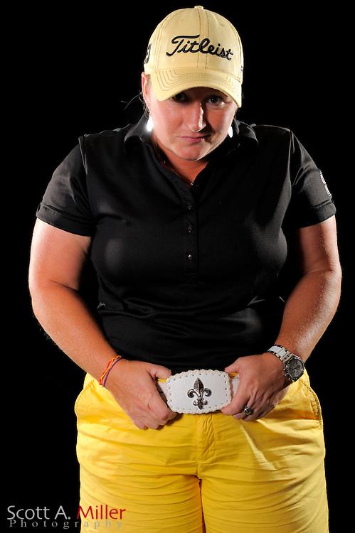 Meredith Duncan during a portrait shoot prior to the LPGA Future Tour's Daytona Beach Invitational at LPGA International's Championship Courser on March 28, 2011 in Daytona Beach, Florida... ©2011 Scott A. Miller