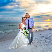 Taylor-Ball Beach Wedding