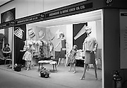 24/04/1964<br /> 04/24/1964<br /> 24 April 1964 <br /> Stands at the Irish Export Fashion Fair at the Intercontinental Hotel, Dublin. Greenmount and Boyne Linen Co. Ltd., (Boyne Mill, Drogheda) stand and display.