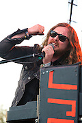 J. Roddy Walston performing at the Heartbreaker Banquet, SXSW 2014, Austin, Texas, March 13, 2014.