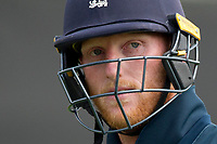 8 June 2019_cricket_CWC 2019_England v Bangladesh<br /> <br /> Ben Stokes walks off, out for 9<br /> in the ICC Cricket World Cup at Cardiff<br /> <br /> pic © winston bynorth