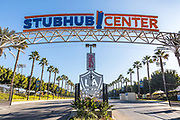 Stubhub Center Entrance and Signage