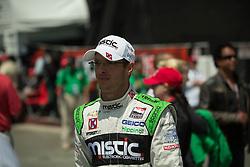 Sebastian Bourdais in the pit LBGP 2014